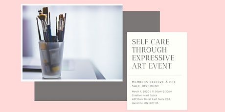 Craft and Chat - Self Care through Expressive Art tickets