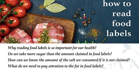 How to read food labels? tickets