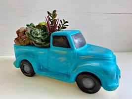 Vintage Truck-Ceramic Painting Class