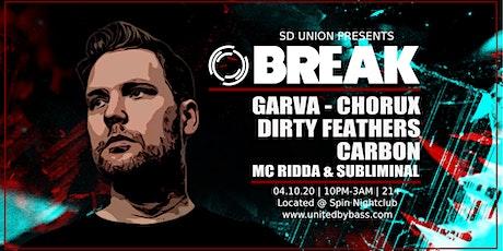 SD Union w/ Break tickets