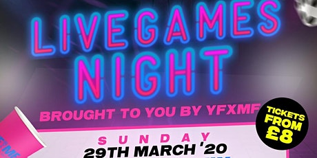 YFxMF: Live Games Night tickets
