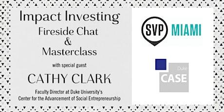 Lunch & Fireside Chat w/ Cathy Clark (Duke CASE) tickets