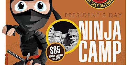President's Day Ninja Kids Camp 2020 - Friday Feb. 14th & Monday, Feb. 17th @ Chamberlain Studios
