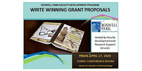 Grant Writers' Workshop- RESCHEDULED tickets