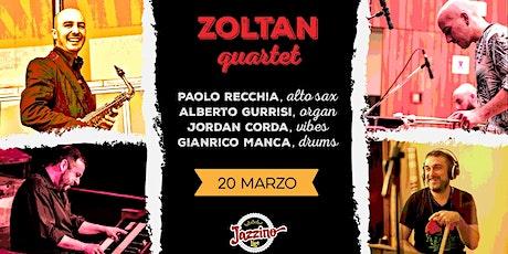 Zoltan Quartet - Live at Jazzino biglietti