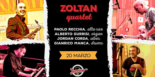 Zoltan Quartet - Live at Jazzino