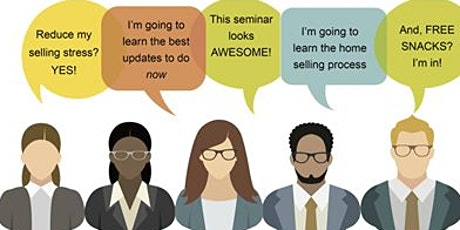 Downsizing, Moving Up, Relocating,  - Where do I start? - Free Home Seller Workshop tickets