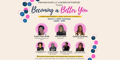 Becoming A Better You Empowerment and social event