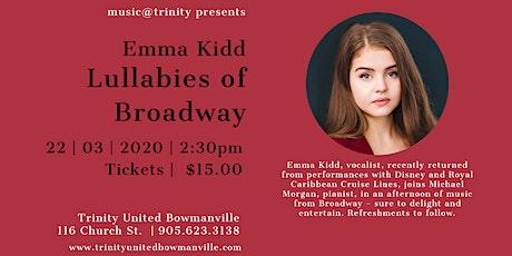 Lullabies of Broadway - Emma Kidd tickets