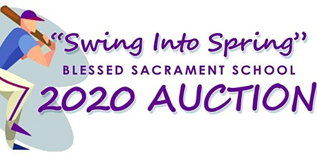 Swing into Spring Auction for Blessed Sacrament School tickets