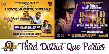 Omega Psi Phi Third District Que Parties tickets