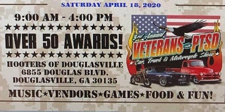 4th Annual Veterans with PTSD Benefit Car, Truck & Motorcycle Show tickets