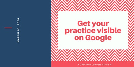 CPD: Get your practice visible on Google  tickets
