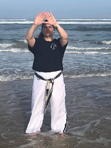 Master Michelle Golino-Crisco, VII Dan logo