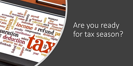 Information Session: Income Tax Return Preparation tickets