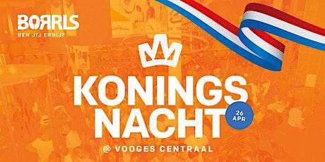 BORRLS op Koningsnacht 2020 in 2021 tickets