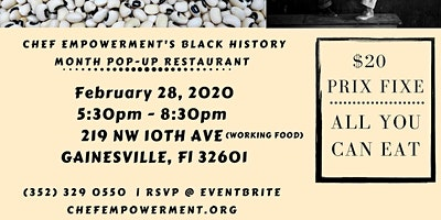 Chef Empowerment Black History Month POP- UP