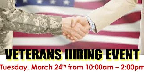 Veterans Hiring Event tickets