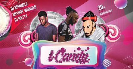 DJ Spinmilz @iCandyThursday February Edition Free entry 2020 tickets