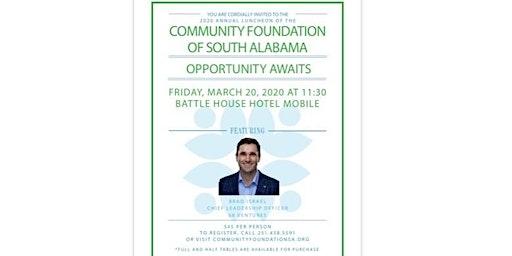 Community Foundation of South Alabama Annual Luncheon