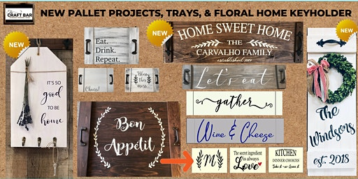 PICK YOUR PROJECT NIGHT w/ NEW DESIGNS!!