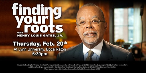 Finding Your Roots Screening at Lynn University, Boca Raton, Fl.