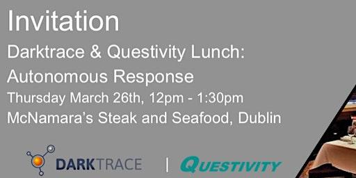 Lunch & Learn Invite - Autonomous Security Response