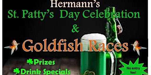 St. Patty's Day Celebration & Goldfish Races