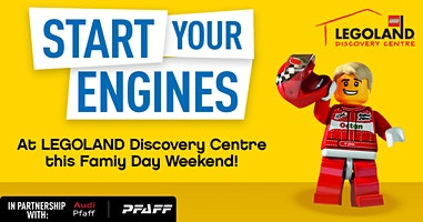 Family Day  long weekend at LEGOLAND Discovery Centre!