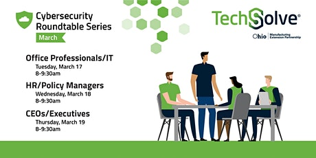 Cybersecurity Roundtables for Manufacturers tickets
