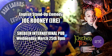 English Comedy with JOE ROONEY (IRE) tickets
