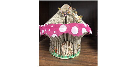 Folded Book Fairy Houses tickets