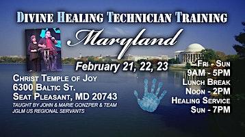 SEAT PLEASANT, MD - JGLM DHT - Divine Healing Technician Training