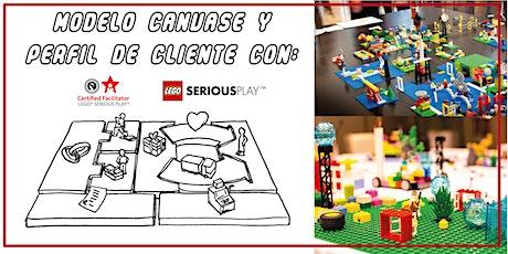 Lego Serious Play Modelo Canvase y Perfil de cliente tickets