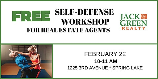 Self-Defense for Real Estate Agents hosted by Jack Green Realty