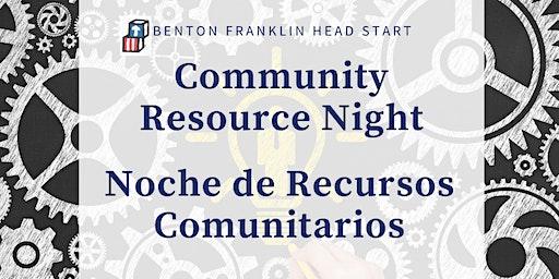 Benton Franklin Head Start Family Resource Night