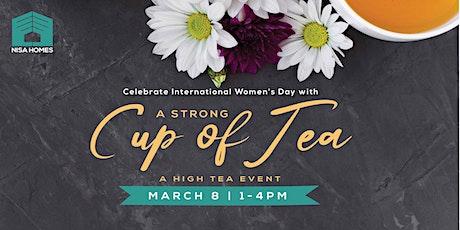 A Strong Cup of Tea: Calgary High Tea Event tickets