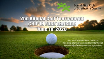 2nd Annual  Boys & Girls Club of Strathcona County Charity Golf Tournament