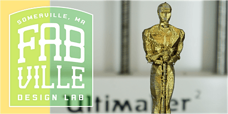 Flat is Boring: Intro to 3D Printing at Fabville tickets