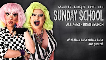 Sunday School - All Ages Drag Brunch
