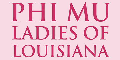 Phi Mu Founders Day March 22, 2020