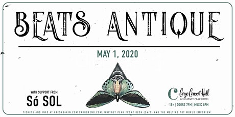 Beats Antique at Cargo Concert Hall tickets