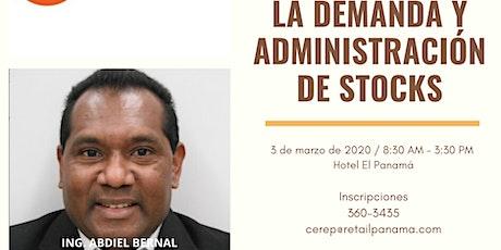 SEM. PROYECCIÓN DE LA DEMANDA Y CONTROL DE STOCKS boletos