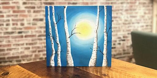 White Birch Paint N' Sip