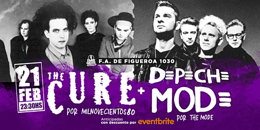Noche de The cure + Depeche Mode en El Emergente Almagro