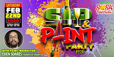Sosa's Paint Parties Sip and Paint