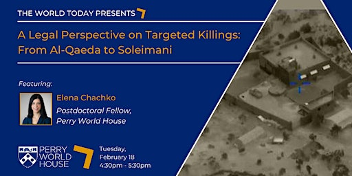 The World Today presents: A Legal Perspective on Targeted Killings
