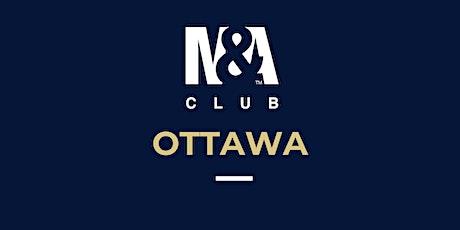 M&A Club Ottawa : Meeting March 4th, 2020 billets