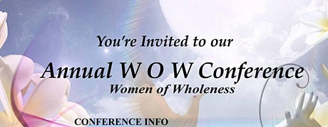 2020 WOW (Women of Wholeness) Conference Retreat tickets