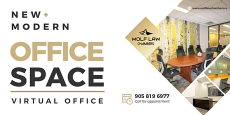 Open House at Wolf Law Chambers Oakville tickets